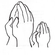 Praying Hands Clipart Cartoon Prayer Hands Clipart