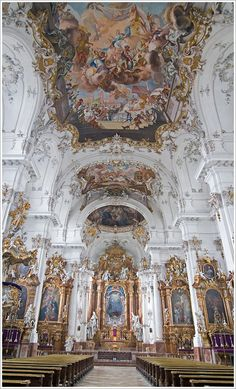 # - Aesthetic baroque - Dissen, Marienmunster The Effective Pictures We Offer You About travel A quality picture can tell - Architecture Baroque, Ancient Architecture, Beautiful Architecture, Classical Architecture, Aesthetic Drawing, Aesthetic Art, Aesthetic Pictures, Aesthetic Vintage, Aesthetic Painting