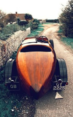 A wish : From an era when building cars was a craft, not manufacturing….Incredible.1932 Talbot Wooden Car