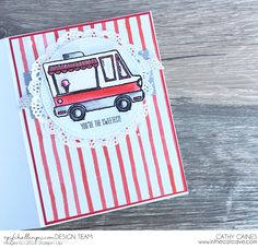 In The Cat Cave: That's One Tasty Truck! | Stampin' Up! Artisan Design Team SAB Blog Hop