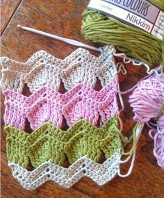Chevron Waves crochet pattern