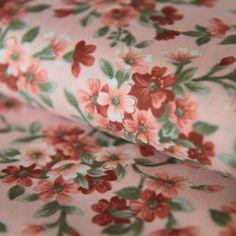 DOPRODEJ Bavlněná látka Růžové květy na světle růžové Floral Tie, Fashion, Moda, Fashion Styles, Fashion Illustrations