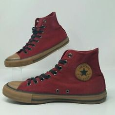 Converse Chuck Taylor All Star (Men s Size 8) Canvas High Top Sneakers  Burgundy  c9256ef73