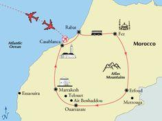 13 Day Kaleidoscope of Morocco Including Flights