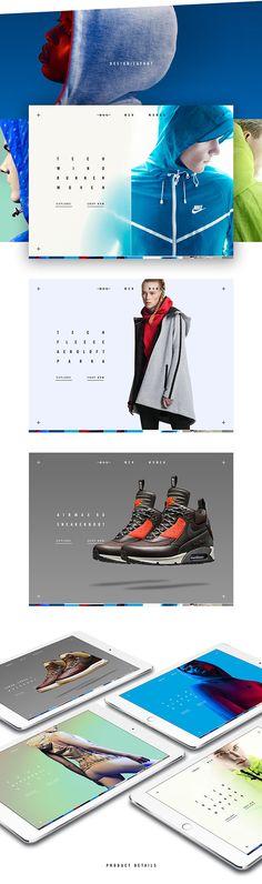 Nike Tech Pack In-Store App UI/UX by Shakir Dzheyranov