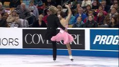 I literally love these two people! Such an inspiration!  2014 US Nationals-Meryl Davis & Charlie White SD [HD]