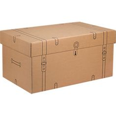 Cardboard Trunk