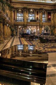 Lifestyles of the Rich and Famous.  The Jefferson Hotel.  Richmond, VIRGINIA.   (by Zason Smith, via Flickr)
