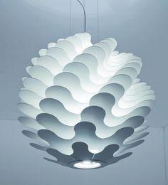 layers of light (aluminium) by lucente #lighting