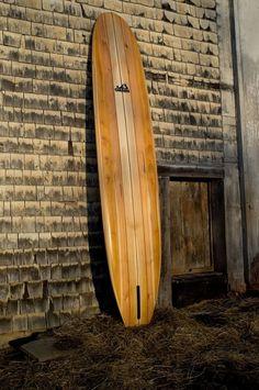 Planche de surf tout bois par grain surfboards surf for Planche de surf deco