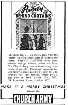 Church Army. 18 December, 1936