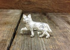 Sterling Silver Wolf Ring by RenaissanceJewelers on Etsy, $75.00