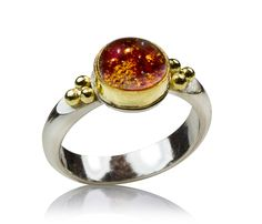 Princeton, NJ based goldsmith, classical jewelry making techniques such as enameling, granulation, and chain making. Bridal Jewelry, Jewelry Art, Gold Jewelry, Jewellery, Gold And Silver Rings, Sterling Silver Rings, Garnet Rings, Selling Jewelry, Costume Jewelry