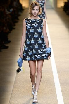 Catwalk photos and all the looks from Fendi Spring/Summer 2015 Ready-To-Wear Milan Fashion Week