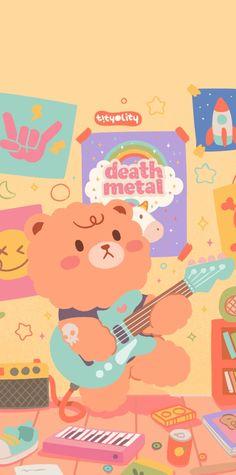 Korea Wallpaper, Calendar Wallpaper, Mood Wallpaper, Pink Wallpaper Iphone, Anime Scenery Wallpaper, Bear Wallpaper, Kawaii Wallpaper, Cellphone Wallpaper, Disney Wallpaper