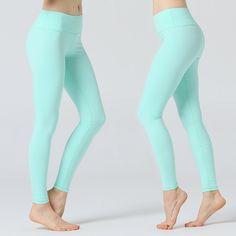 838148d2768cdb Red yoga pant women Gym wear Seamless energy leggings butt lift compression  sport leggings high waisted yoga pants tummy control
