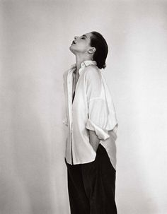 // Isabella Rossellini by Michel Comte