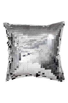14,99€ 40x40 Capa de almofada lantejoulas | H&M
