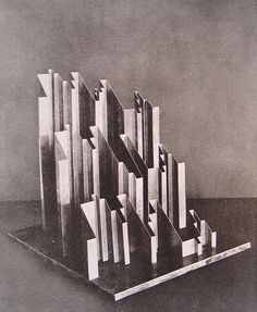 Henri Nouveau, Plastic representation of the Fugue in E Flat Minor by J.S. Bach, 1928