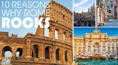 """""""10 reasons why Rome rocks"""" #Roma #Italy #amazingness"""