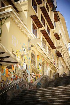Graffiti in Cuenca, Ecuador