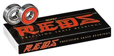 Bones Reds 608 bearings are high quality skate specific bearings. This pack includes 8 skateboard bearings and a set of instructions. They are inspected twice before shipping to ensure that they are the first-rate bearings that you expect from Bones. Skateboard Deck, Skateboard Bearings, Skateboard Parts, Board Skateboard, Roller Derby, Roller Skating, Skate Bearings, Skateboard Accessories, Cool Fidget Spinners