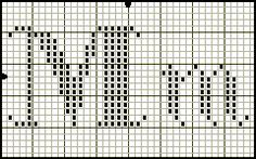 Possibly the most elegant filet alphabet I've seen yet. Cross Stitching Alphabet Pattern Seasons