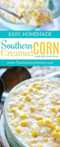 Creamed Corn with Cream Cheese | Quick and Easy To Make