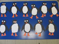 First Day penguins :)