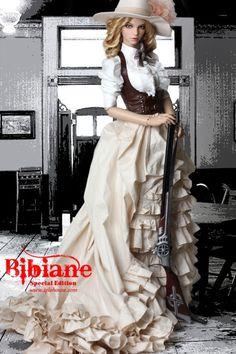 Bibiane, Special edition from iplehouse. Ooak Dolls, Blythe Dolls, Barbie Dolls, Barbie Clothes, Pretty Dolls, Beautiful Dolls, Steampunk Dolls, Manequin, Dream Doll