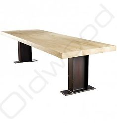 robuuste tafels eiken tafel fjorde b131t modern noble lacquer