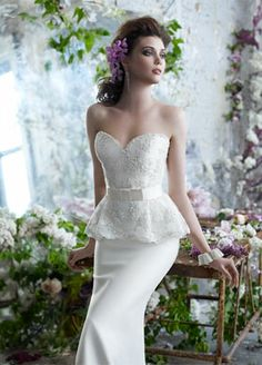 Bridal Gowns, Wedding Dresses by Tara Keely - Fall 2012 Collection - JLM Couture