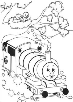 Thomas The Tank Engine Coloring Pages Picture 25 – Free Thomas The Tank Engine Coloring Pages Coloring Sheet – DayColoringPages.com