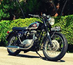 BSA Motorcycle Co Made In Britian Since 1903 Adult T Shirt BSA 650