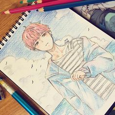 Marvelous Learn To Draw Manga Ideas. Exquisite Learn To Draw Manga Ideas. Manga Drawing, Manga Art, Anime Art, Drawing Art, Jimin Fanart, Kpop Fanart, Kpop Drawings, Pencil Drawings, Bts Chibi