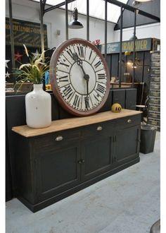 meuble de mtier vers 1940 en chne plus - Buffet Noir