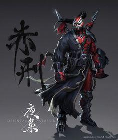 Red Punisher by SKtneh on deviantART #spears #chain