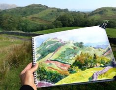 Plein-Air Painting in the Lake District
