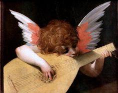 Rosso Fiorentino (Giovan Battista di Jacopo) 1495-1540. Florence. Angel musician. 1521. Florence. Uffizi Gallery.