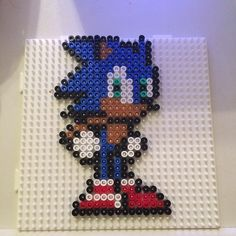 Sonic hama beads by skittle3391