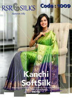 f17a35d260 Whatsapp No. +91 9159715557. RSR SILKS · Kanchipuram Soft Silk Sarees