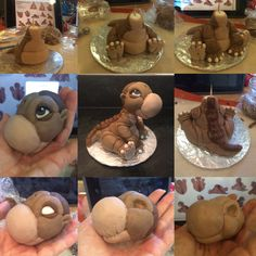 Little foot fondant cake topper - land before time birthday party
