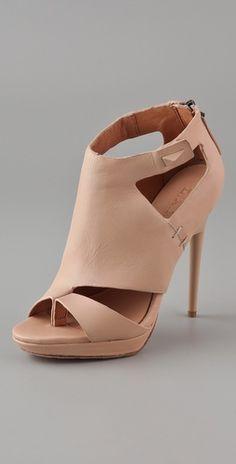 L.A.M.B.    Amanda Booties  Style #:LAMBA40159  $285.00    $199.50 (30% off): Nude, Grey
