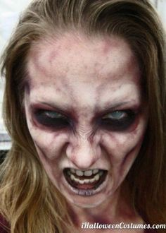 25+ best ideas about Zombie makeup