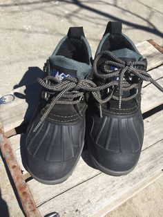 Women's Rei Baffin Lace Up Short Winter Hiking Lined Boots 6W Free Ship  | eBay