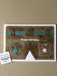 Happy Birthday , Stampin up , created by Peggy Müller
