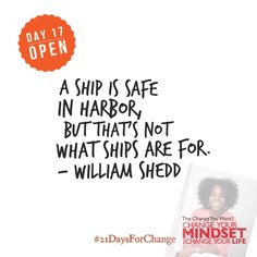 Have you opened yourself to taking risks and the rewards that come with it?  #21DaysForChange #success #mindset #LawOfAttraction #changeyouwant