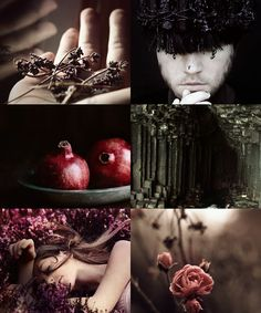 "ibuzoo: ""Villains with a heart - Hades ""dark red pomegranate seeds catch between his teeth while he watches her from his realm of the dead he had been a boy once, a simple mortal, not a god out of..."