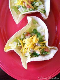 Baking with Blondie : Easy Homemade Tortilla Bowls
