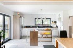 Wohnzimmer Esszimmer  Küche Haus bauen wohnen